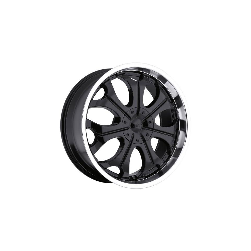 VISION WHEEL   323 torch   20 Inch Rim x 9   (5x4.5/5x120) Offset (18) Wheel Finish   gloss black machined lip