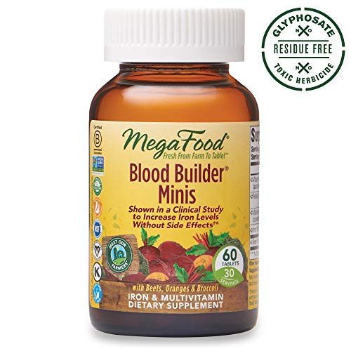 MegaFood Blood Builder Minis are shown in a clinical study to increase iron levels and reduce fatigue without common gastrointestinal side effects like nausea or constipation (it's a fact!). Everything you love about our original Blood Builder is now...