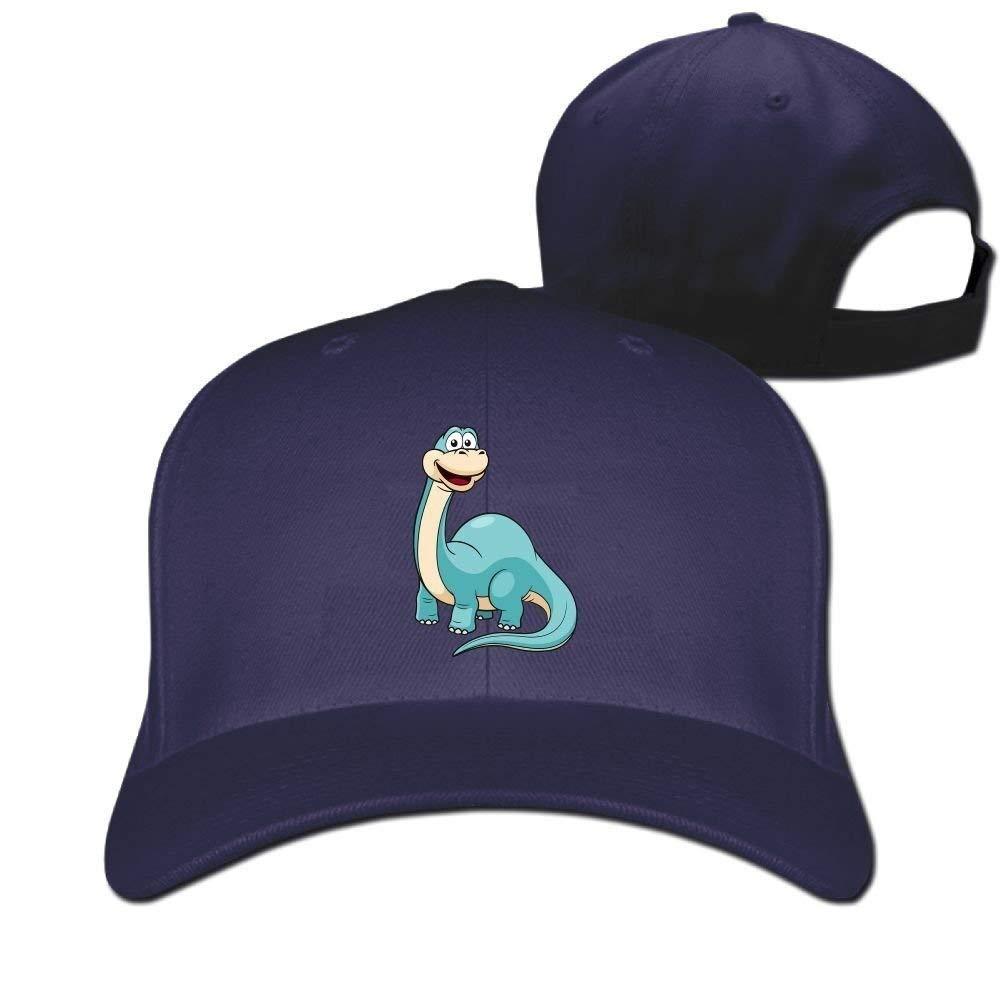 Gorras de béisbol Divertidas Sombreros Azul Dinosaurio de Dibujos ...