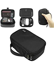 Sisma Travel Electronics Organiser Carrying Case for Power Cords Phone Battery Chargers Earbuds Hard Drives Memory Cards Laptop Adapter Mouse Small Accessories