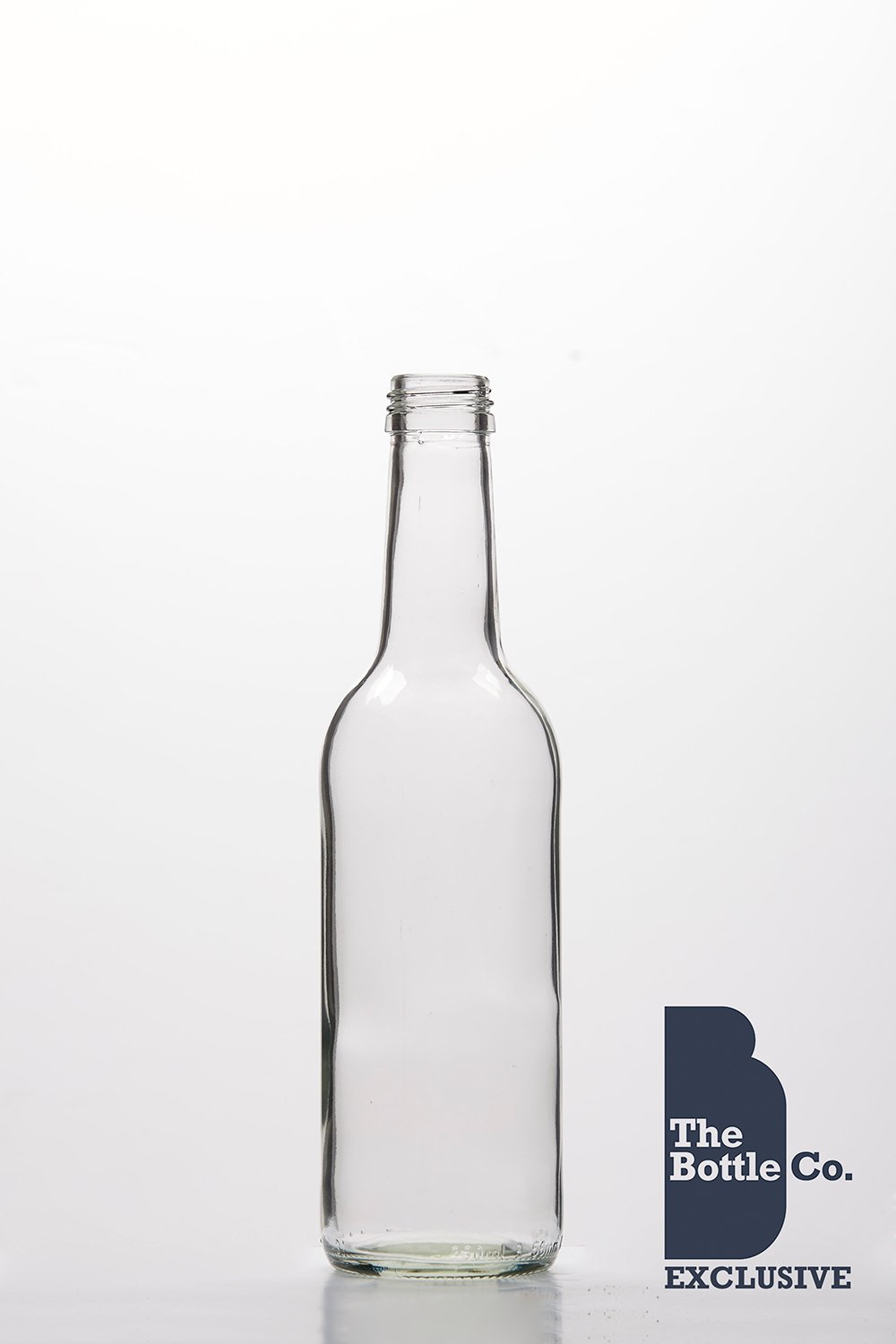 BOTTLE COMPANY 39 X 330ML APPROX ROUND (MINERAL) GLASS JUICE,WATER,CIDER,LIQUOUR,WINE,BEER BOTTLE C/W GOLD T/E CAP 330MIN39