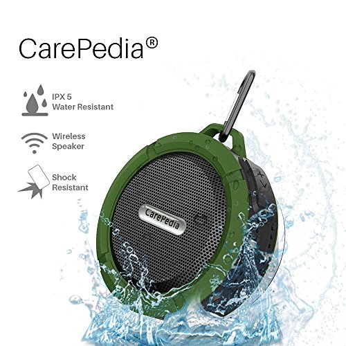 CarePedia Resistant Bluetooth Dedicated Army Green product image