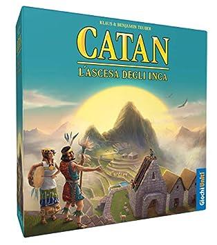 Juegos Unidos – La Los Éxitos del Inca Juego de la línea Catan con Malabares Histórica,, 1