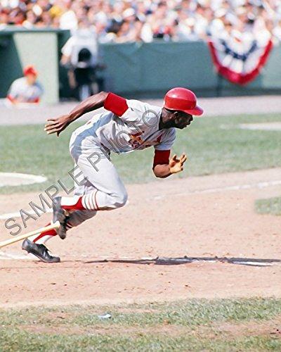 (Lou Brock 1967 St Louis Cardinals 8x10 Photo)