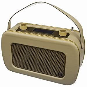 kitsound jive retro portable dab radio with. Black Bedroom Furniture Sets. Home Design Ideas