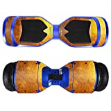 MightySkins Protective Vinyl Skin Decal for Swagtron T3 Hover Board Self Balancing Smart Scooter wrap cover sticker skins Textured Gold
