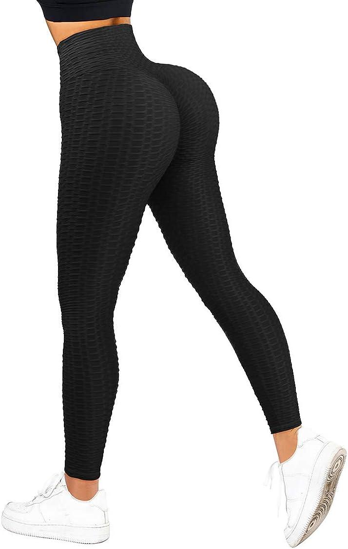 COMFREE Scrunch Butt Leggings Po Push Up Sportleggings Booty Leggins Butt Lifting Sport Damen Leggings Fitness Tights Yoga Pants Laufhose Yogahose Jogging Training Workout