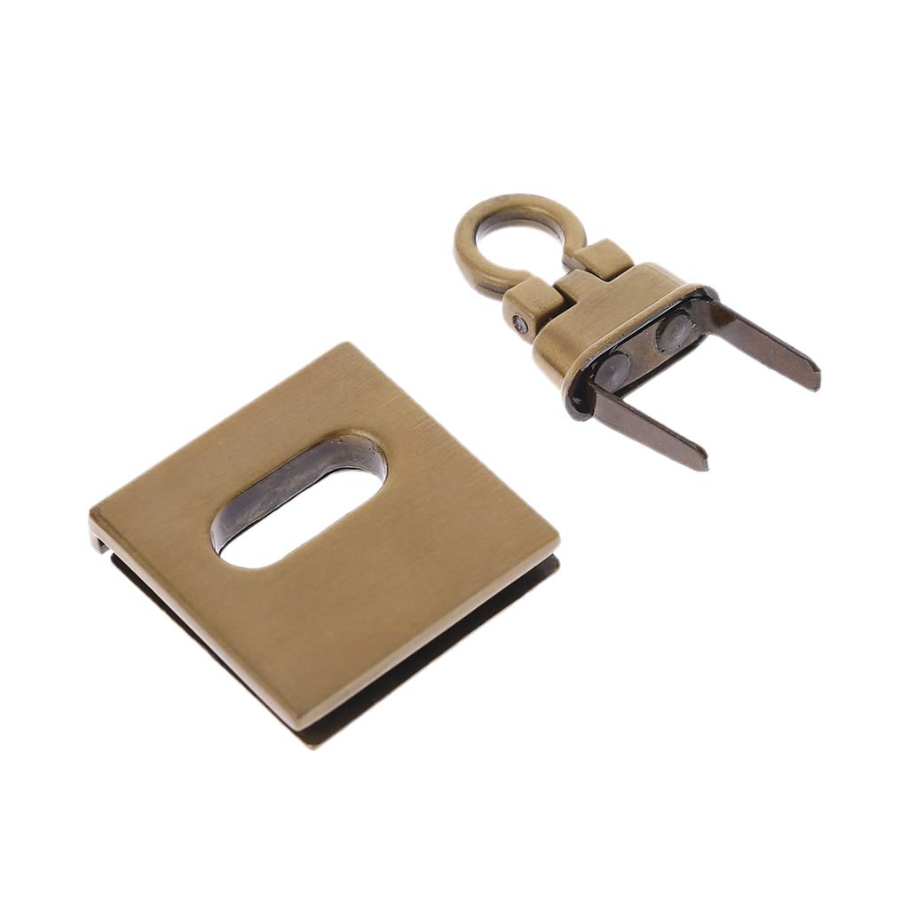 FURU Metall Twist Lock Tasche Fall Verschluss F/ür Handtaschen Crossbody Umh/ängetasche Geldb/örse Zubeh/ör DIY Handwerk