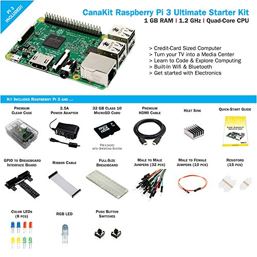 CanaKit Raspberry Pi 3 Ultimate Starter Kit - 32 GB Edition by CanaKit (Image #1)