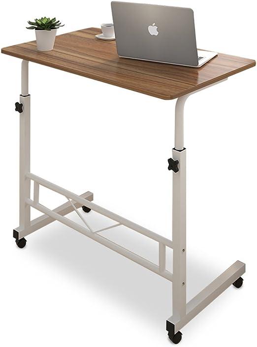 AJZXHE pequeña Mesa Mesa de Ordenador, Mesa de Comedor para el ...