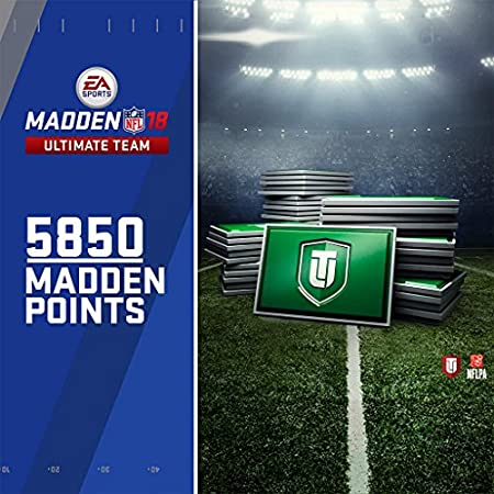 Madden NFL 18: 5850 MUT Points - PS4 [Digital Code]