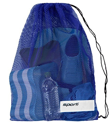(Sporti Mesh Equipment Bag (Blue))