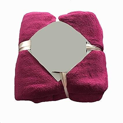 Znzbzt Manta de franela gruesas toallas frazadas coral dobles tienen aire acondicionado siesta mantas delgadas,