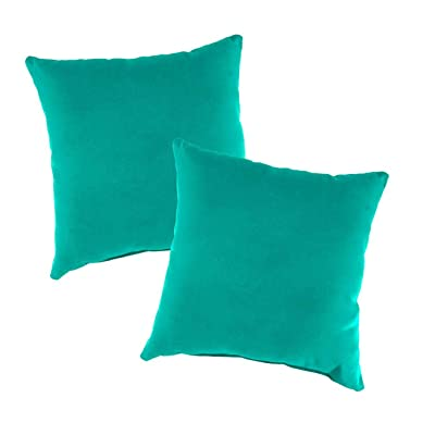 Replacement Pillows for Rope Hammock Swing, Set of 2-22 sq. Aqua: Garden & Outdoor