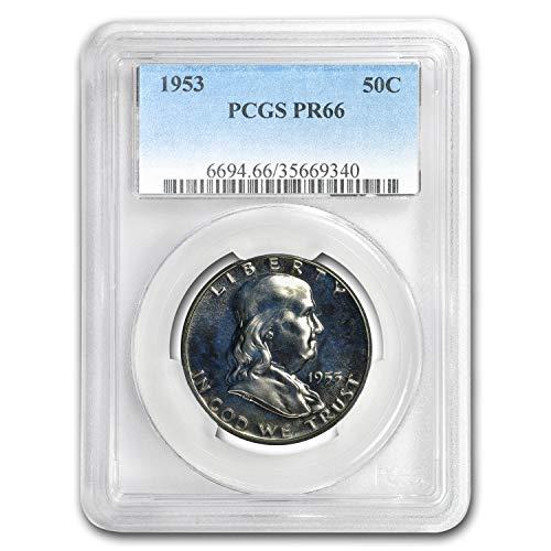 1953 Franklin Half Dollar PR-66 PCGS Half Dollar PR-66 ()