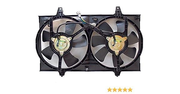 Sunbelt Radiator And Condenser Fan For Nissan Maxima Infiniti I30 NI3115103 Drop in Fitment