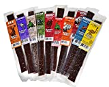 Buffalo Bob s 10 Piece Gourmet Exotic Jerky Assortment