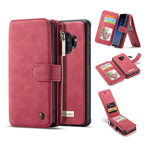 Galaxy S9 Plus Case,AKHVRS Leather Wallet Phone...