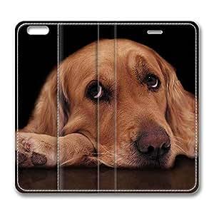 Brain114 6, iPhone 6 Case, iPhone 6 4.7 Case, Sad Dog PU Leather Flip Protective Skin Case for Apple iPhone 6 4.7