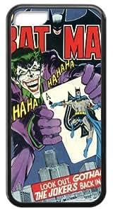 Custom Unique Design Batman Joker Poker Iphone 5C Silicone Case