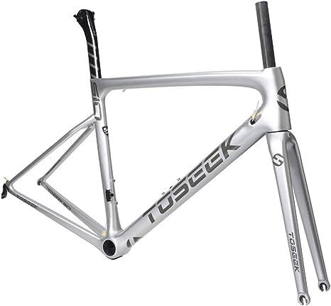 SXMXO Cuadro de Bicicleta de Carretera de Carbono Completo ...