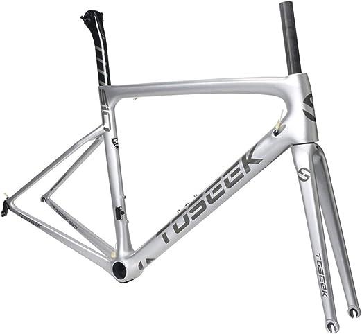 SXMXO Cuadro de Bicicleta de Carretera de Carbono Completo Cuadro ...
