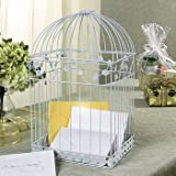 White Birdcage Wedding Gift Card Holder Wishing Well, Health Care Stuffs