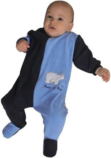 Mauz - Pijama para bebé, diseño de oso polar, color azul ...