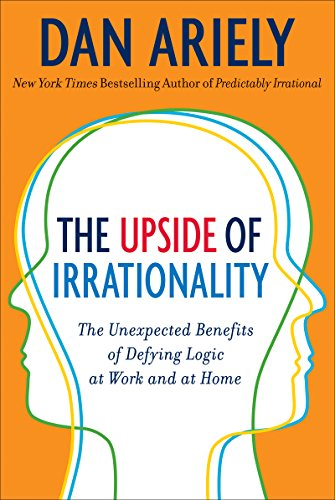 Cover of The Upside of Irrationality book by Dan Ariely