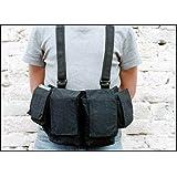 Newswear Mens Documentary Chestvest, SLR Camera & Lens Carry System, Black.