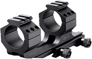 Burris Optics P.E.P.R. Scope Mount, Includes Both Smooth and Picatinny Ring Tops, 30mm, Standard Attach, BLACK (410341)