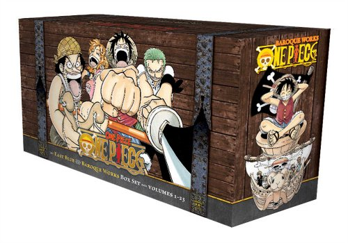 One Piece Box Set East Blue and Baroque Works Volumes 1-23
