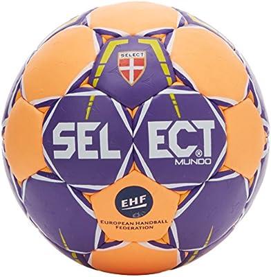 SELECT Mundo – Balón de Balonmano, Color Purple/Orange, tamaño 0 ...