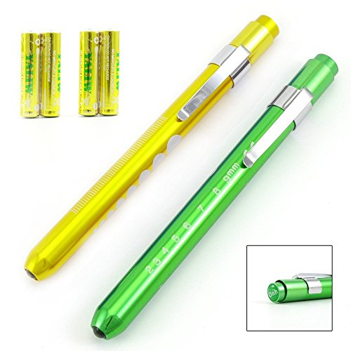 Medical Reusable Penlight Pupil Gauge