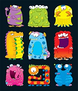 Carson Dellosa Monsters Prize Pack Stickers (168050)