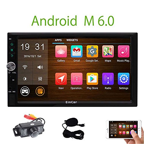 Backup Camera included! Android 6.0 2 Din Car Stereo with 7