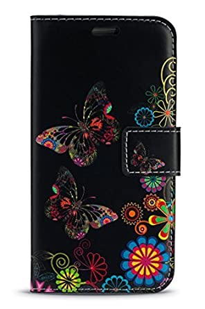 KACE Vodafone Smart Turbo 7 / Vfd 500 - Fun Colourful Printed Wallet Case Cover Creative