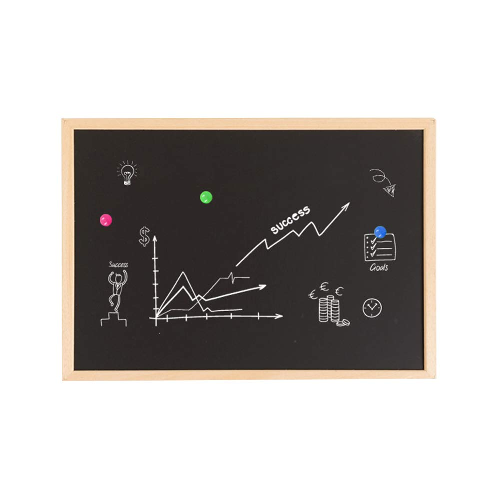 LIANGJUN Message Board Chalkboards Photo Wall Magnetic Hanging Whiteboard Durable Office Household, 7 Sizes, 4 Styles (Color : C, Size : 80x100cm)