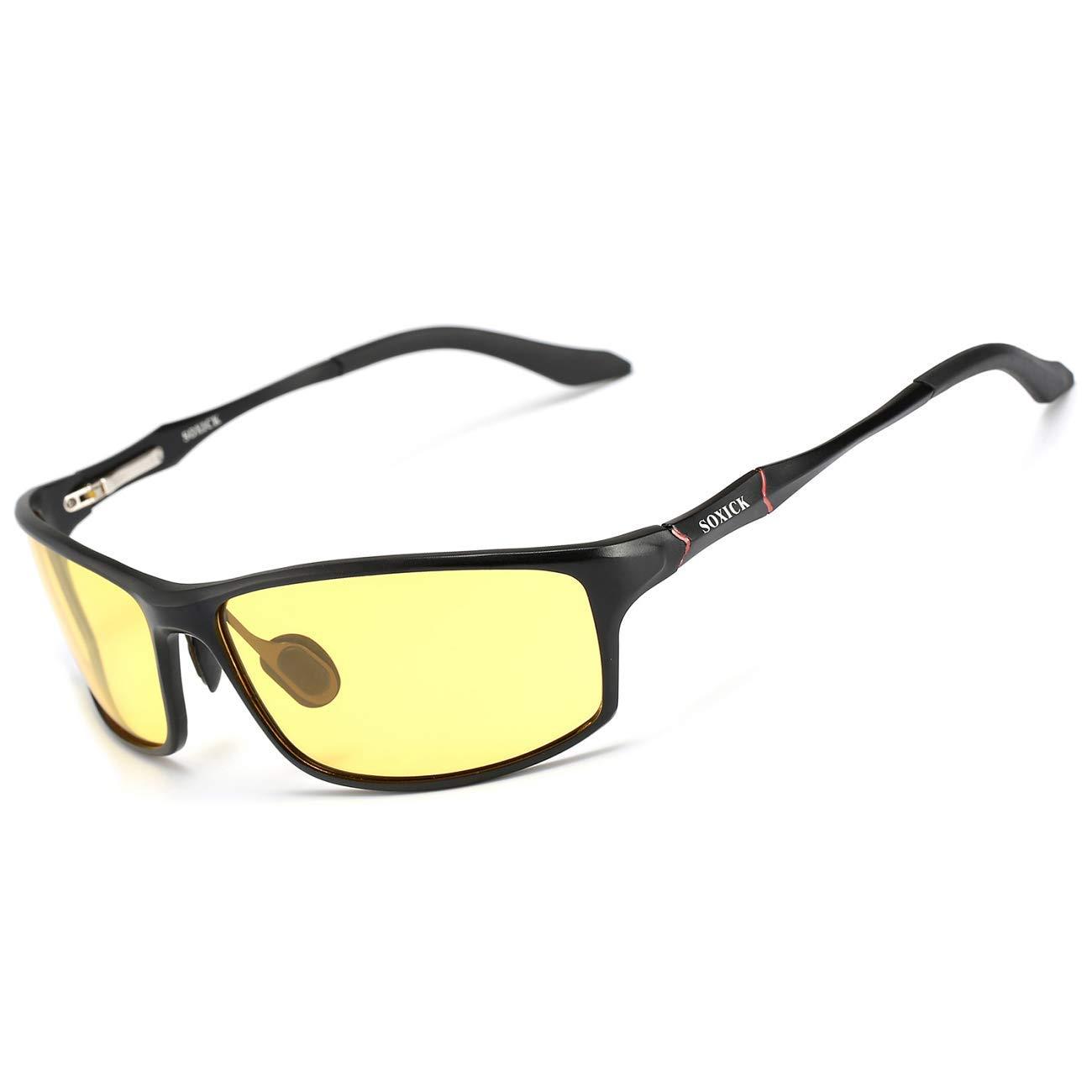 meilleures lunettes de conduite de nuit anti-éblouissement