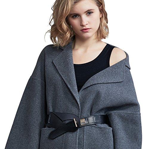 leather dress coat - 5
