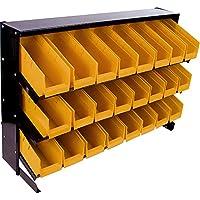 Stalwart  24 Bin Parts Storage Rack Trays