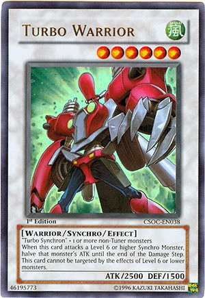 YuGiOh 5Ds Crossroads of Chaos Single Card Turbo Warrior CSOC-EN038 Ultra Rare