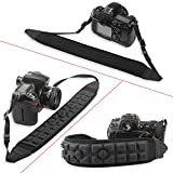 Professional Air Cushion Camera Shoulder Strap, Anti slide and Pressure Retarding Design, Air Cushion, Scratch free, longtime comfort wearing, best for Camera and DSLR Camera by Canon, Nikkon, Sony,