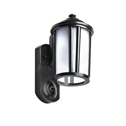 Amazon kuna video security camera outdoor light traditional kuna video security camera outdoor light traditional bronze works with amazon alexa workwithnaturefo