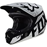 Fox Racing 2017 Race Youth V1 Motocross Motorcycle Helmet - Black / Large