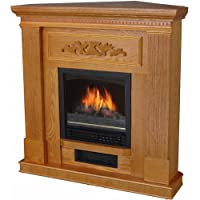 "Home Electric Fireplace, w/38"" Mant..."