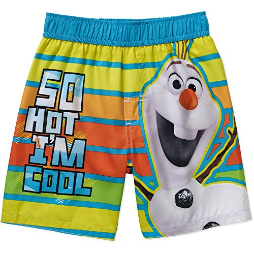 [Disney Frozen Olaf the Snowman Toddler Boy Swim Trunks (5T)] (Disney Frozen Snowman)