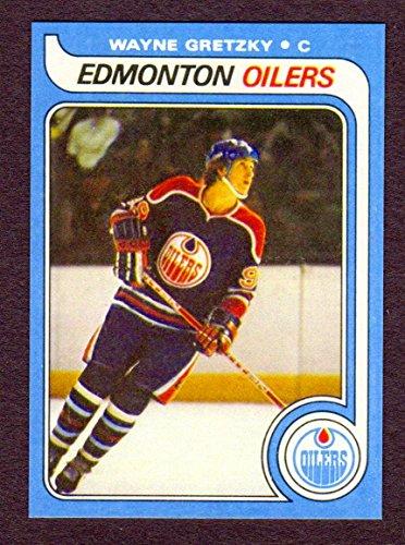 Wayne Gretzky 1979 Topps Hockey Reprint Rookie Card (Edmonton) (Los Angeles)