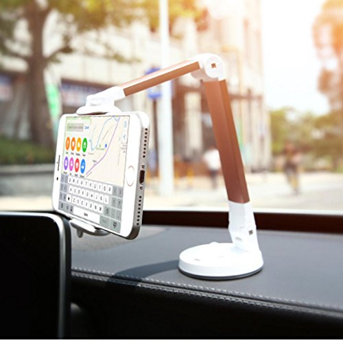 Boyiya Universal Socket Desktop Phone Holder Stand, 360 Degree Rotating Pop Car Phone Holder