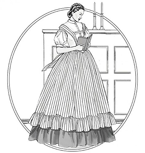 McCalls Cosplay Ladies Sewing Pattern 2057 Historical Blouse, Skirt & Pinafore